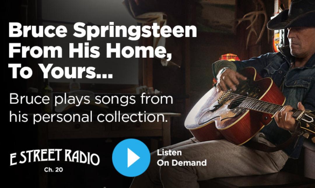 5h30 en compagnie de Bruce Springsteen dans une émission diffusée gratuitement